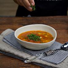 Kıymalı Zencefilli Sebze Çorbası