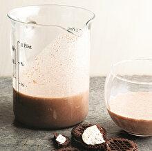 Kakaolu Kremalı Bisküvili Süt