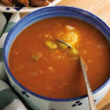 Taze Fasulyeli Tarhana Çorbası