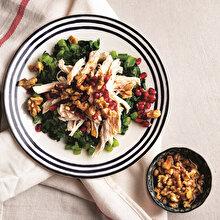 Tavuklu Pazı Salatası