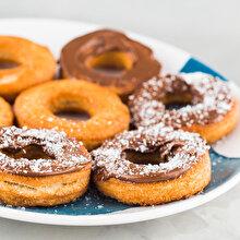 Hindistan Cevizi Tozlu Donut