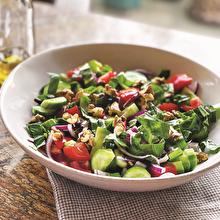 Fesleğenli Yaz Salatası