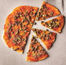 Ançüezli Kaparili Pizza