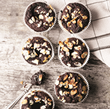 Kakaolu Muzlu Muffin
