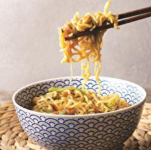 Sebzeli Soya Filizli Noodle