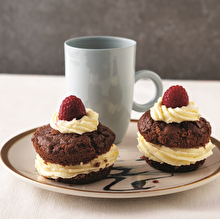 Kremalı Kakaolu Muffin
