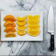 Portakal nasıl doğranır?