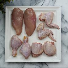 Bütün tavuk nasıl parçalanır?