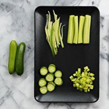 Salatalık nasıl doğranır?