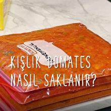 Kışlık domates sos nasıl saklanır?