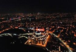 <p>Drone photos shows aerial views of a