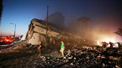 Turkish TIKA building in Gaza sustains damage from Israeli airstrike