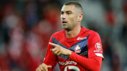 Turkish forward Burak Yilmaz named player of month for April at Lille