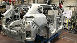 Initial body assembly of Turkey's homegrown car completed