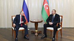 Russian, Azerbaijani presidents meet in Moscow