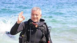 'Aquarium of Saros' in Turkey draws attention of diving enthusiasts