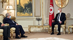 Tunisian president discusses regional issues with Algeria's foreign minister