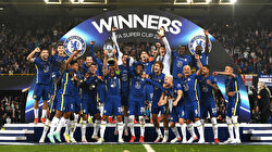 Chelsea win 2021 UEFA Super Cup