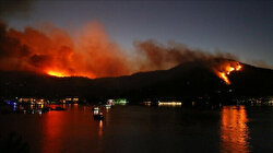 Messages of support pour in for Turkey's fight against forest fires
