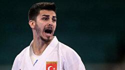 Turkish athlete Eray Samdan wins silver in men's 67kg karate