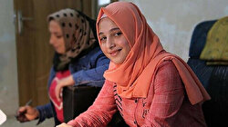 Syrian girl begins hearing again with help from Turkish aid group