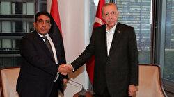 Erdoğan meets with top Libyan leader in New York