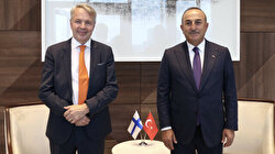 Turkey's foreign minister meets his Finnish counterpart in New York