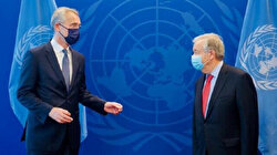 NATO, UN leaders hold talks in New York on climate crisis