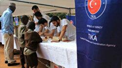 Generosity of Turkish people helps save lives in Uganda
