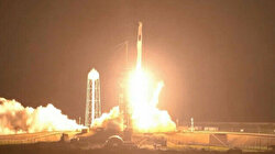 SpaceX launches 4 astronauts in historic mission