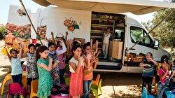 مكتبة متنقّلة في غزة لتشجيع الأطفال على القراءة