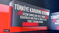 Türkiye'nin seçimi TVNET'te