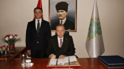 Cumhurbaşkanı Erdoğan Tokat Valiliğini ziyaret etti