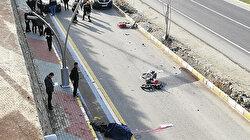 Trafik polisi kaza yerinde oğlunun ölüm haberini aldı