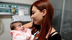 Kilis'te parka terk edilen bebek korumaya alındı