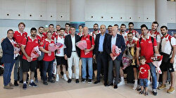 Turkey welcomes volleyball team over European success