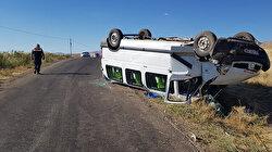 Erzincan'da düğün yolunda kaza: 12 yaralı