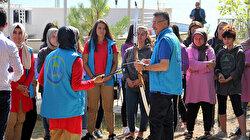 Cumhurbaşkanı Yardımcısı Oktay gençlerle bisiklet sürdü, ok attı