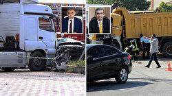 Hatay emniyet müdürünün karıştığı trafik kazasında suikast şüphesi