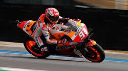 Marquez fastest in Thailand after huge crash and hospital visit