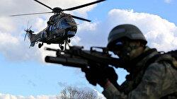 Hakkari'de düzenlenen hava destekli operasyonda 4 terörist etkisiz hale getirildi