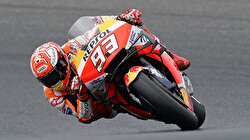 Marquez rides luck to win in Australia