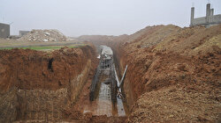 Resulayn'da terör örgütüne ait yeni tünel tespit edildi: Mehmetçiğin darbesi ile yarım kalan tüneller görüntülendi