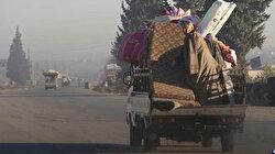 Cumhurbaşkanı Erdoğan'ın bahsettiği Suriye'deki yeni göç dalgası görüntülendi