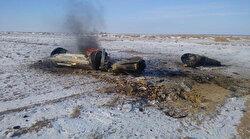 Rusya'nın uzay üssünden fırlatılan balistik füzesi Kazakistan'a düştü
