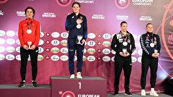 """مصارعة: التركية """"أدار"""" تحرز فضية بطولة أوروبا 2020"""