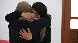 Diyarbakır'da HDP önündeki nöbette bir aile daha evladına kavuştu