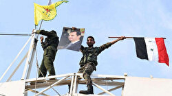 YPG/PKK'lı teröristler yaralılarını Şam'da tedavi ettiriyor