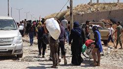 İdlib'de ateşkesten sonraki 1 ayda 73 bin sivil evine döndü