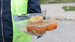 Çorum Belediyesi'nden 2 bin aileye sıcak yemek